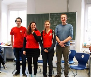 Das MSV-Team aus Freiburg