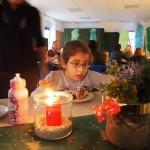 Für Dekoration und Kuchen haben die Schüler gesorgt
