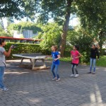 Spiele im Schulhof