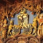 Überlinger Wappen im Rathaussaal