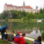 Gartenschaugelände/Schloss Sigmaringen