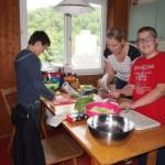 Kochteam des ersten Abends