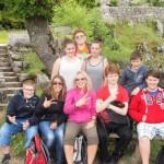Klasse 7 auf der Burg