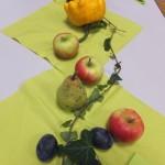 Dekoration von unserem Bildungspartner Obsthof Kitt