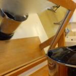 Wasser kocht, verdampft und kondensiert