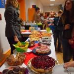 Kuchenbuffet -organisiert von unseren Eltern