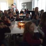 Gemütliches Beisammensein der ganzen Schule