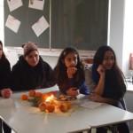 Adventsstimmung mit Kerzenleuchtern aus dem Praxistag