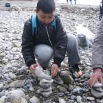 15 Wir machen Steintürme