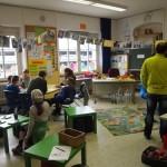 Alle Klassenzimmer waren offen