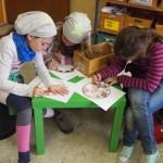 Basteln und Spielen im Klassenzimmer von Kl. 5-7-