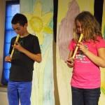 Flötenstück von Amelie und Juan