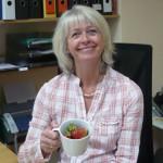 15 Unsere Frau Blank verdient auch leckere Erdbeeren