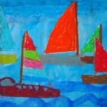 Segelboote von Lennart