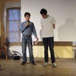Tobias und Philipp führten durchs Programm