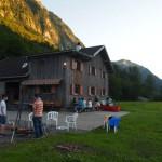 Unsere Hütte in Schnepfau