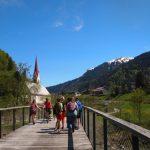 Wanderung zurück vom Argenbachtal Au